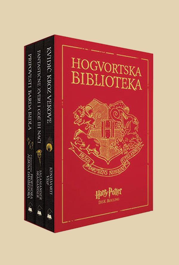 Hogvortska biblioteka – komplet