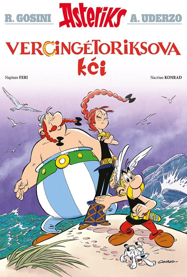 Vercingetoriksova kći – Asteriks album 38