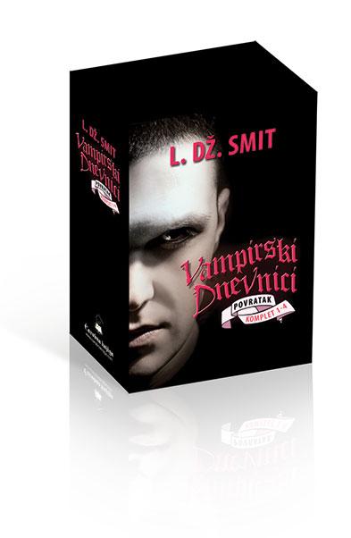Vampirski dnevnici 5–7 – komplet