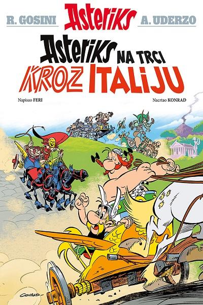 Asteriks na trci kroz Italiju – album 37